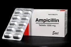 Ampicillin Tablets 1000 mg, 10 X 10