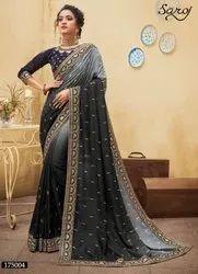 Beautiful Desginer Dola Silk Saree