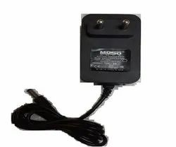 Moso Black 12v 1a Regulated Power Adapter, For Electronic Instruments, 100-240V