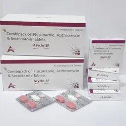 Fluconazole 150mg Azithromycin 1000mg Secnidazole 1000mg