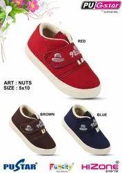Velcro Kids Party Wear PVC Shoes, Article: Nuts, Size: 5 X 10