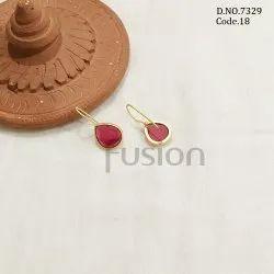 Fusion Arts Handmade Stone Earrings