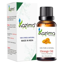 KAZIMA 100% Pure Natural & Undiluted Orange Oil