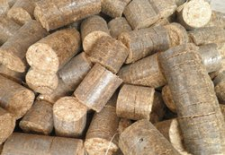 Wooden Biomass Briquettes, For Boiler, Thickness: 90 Mm