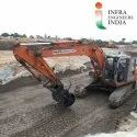 Pad Foot Slope Compactor