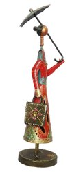 Iron Umbrella Dolls, For Decoration, Packaging Type: Box