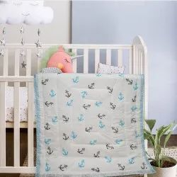 Baby Quilt Block Printed Made In Cotton Fabric