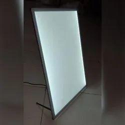 Acrylic White Led Frame, Size: A3
