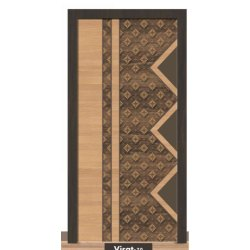 Wooden Laminated Hinged Door