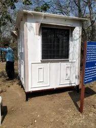 FRP Prefabricated Security Cabin
