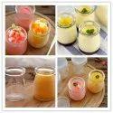 Pudding Glass Jars