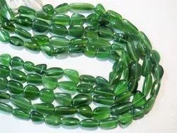 AAA Grade Serpentine Smooth Tumble Stone Beads