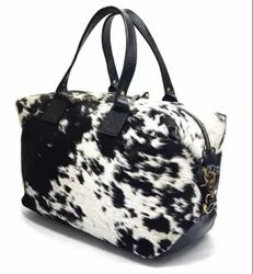 Leather Handbags, For Daily Use, Gender: Unisex