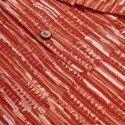 Janasya Men's Orange Cotton Kurta(MEN5014)