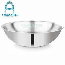 Mirror Finish Silver Triply Tasla, For Kitchen