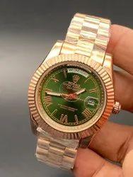 Analog Latest Rolex Automatic Watch