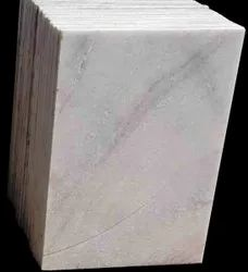 Natural stone Polished 10MM White Marble Tiles, Size: 2 Ft * 3 Ft