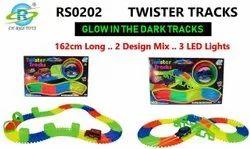 Twister Tracks Glow In Dark 2 Design Mix 3 LED Lights