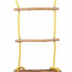 Wooden Steps Rope Ladder