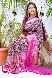 Colorthreads Wedding Wear Kanchipuram Silk Saree, With Blouse Piece