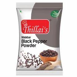 Thillais A Sharp,Pungent Aroma Black Pepper Powder, Packaging Size: 50g