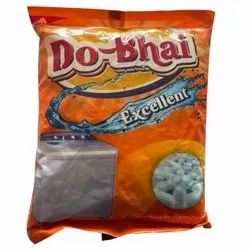 Lavender White Do Bhai Detergent Powder, For Laundry, Packaging Type: Packet