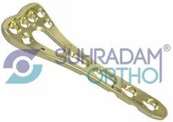2.4/2.7mm Variable Angle LCP-Two Column Volar Distal Radius Locking Plate