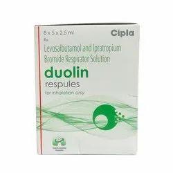 Duolin 1.25mg/500mcg Respules
