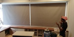 Brown PVC Window Curtain Blind, For Residential