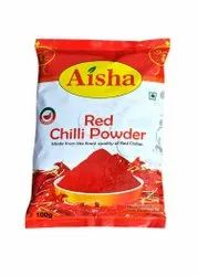 100 Grams Red Chilli Powder, Pouch