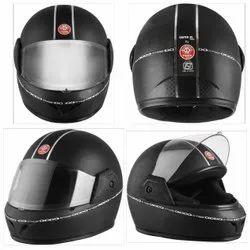 Black Plastic SUPER XL CP Full Face Bike Helmet