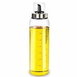 Borosilicate 500ml Olive Oil Dispenser Bottle, Use For Storage: Oils