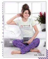 Cotton Regular Wear Women Nightwear, Age Group: 16 To 25