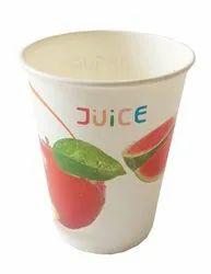 Printed 210 ML Paper Juice Glass