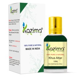 Kazima Pure Natural Undiluted Khus Attar