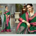 Blue Pure Banarsi Silk Saree-5 Pcs Set