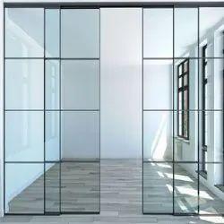 Aluminium Slim Profile for Glass Door