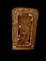 Ganesh Ji wooden Murti 8 inch In standing