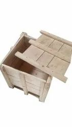 Pine wood Industrial Wooden Packing Box, Size(LXWXH)(Inches): 36x36x42 Inch