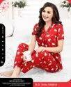Full Length Sinker Hosiery Pipal India Women Night Dress, 16 To 25