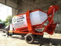 Tractor Operated Concrete Transit Mixer