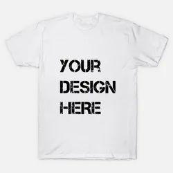 White Polyester T Shirt