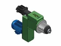 Mild Steel Drilling / Tapping Spindle Head Unit - Servo / Flange Type, Number Of Spindle: 1