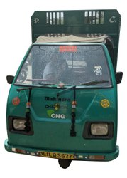 Mahindra Champion CNG Tempo Transportation Service