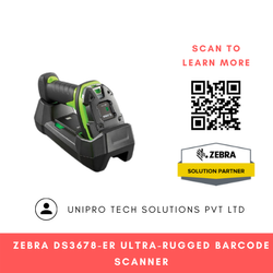 Zebra DS3678-ER Ultra-Rugged Barcode Scanner