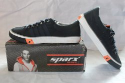 Sneakers Black Sparx Sport Shoes For Men, For Daily Uses, Model Name/Number: SS230