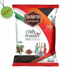 Dharthi Red Chilli Powder, 500 g, Packets