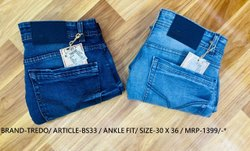 Denim Plain Boot Cut Jeans, Waist Size: 30 X 36