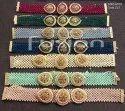 Fusion Arts Beaded Choker Necklace Set
