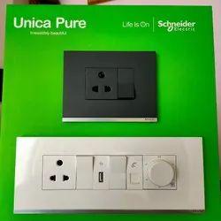 Schneider Unica Pure modular switch